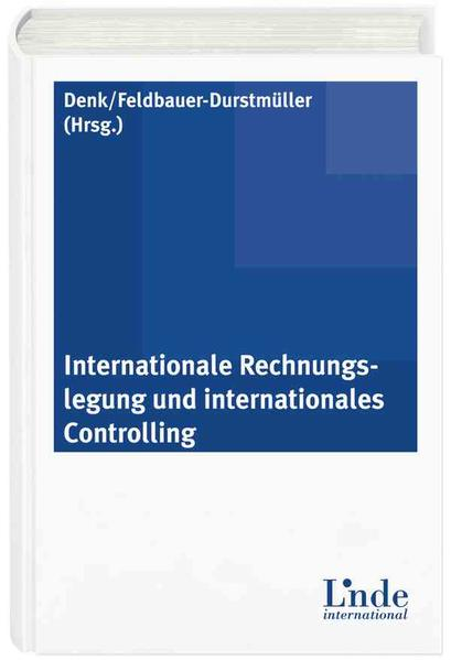 Internationale Rechnungslegung und internationales Controlling - Coverbild