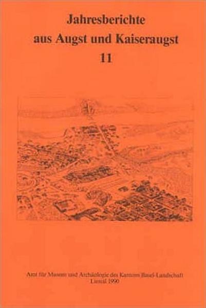 Jahresberichte aus Augst und Kaiseraugst 11 - Coverbild