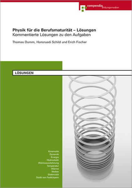 Physik für die Berufsmaturität - Lösungen - Coverbild