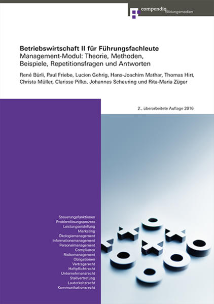 Betriebswirtschaft II für Führungsfachleute - Coverbild