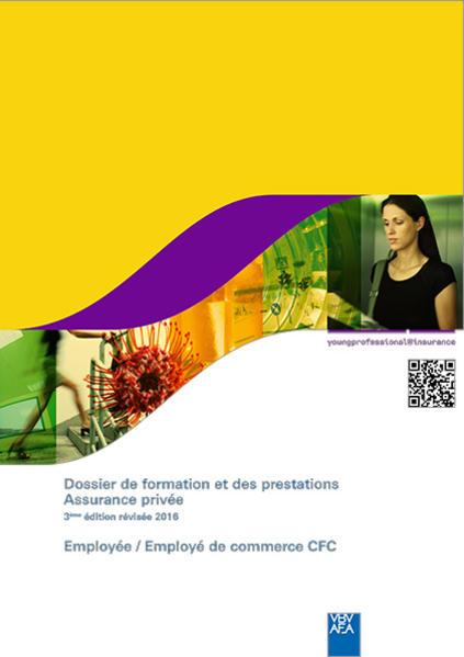 Dossier de formation et des prestations Assurance privée - Coverbild