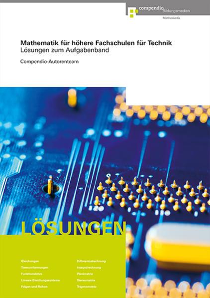 Mathematik für Höhere Fachschulen für Technik - Coverbild