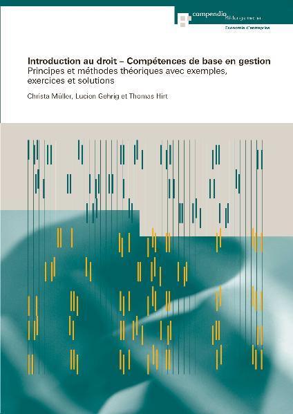 Introduction au droit - Compétences de base en gestion - Coverbild