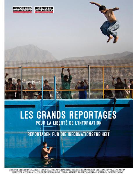 Reportagen für die Informationsfreiheit - Coverbild