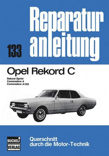 Opel Rekord C - Coverbild