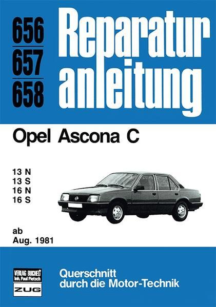 Opel Ascona C    ab August 1981 - Coverbild