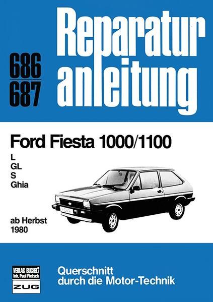 Ford Fiesta 1000/1100 - Coverbild