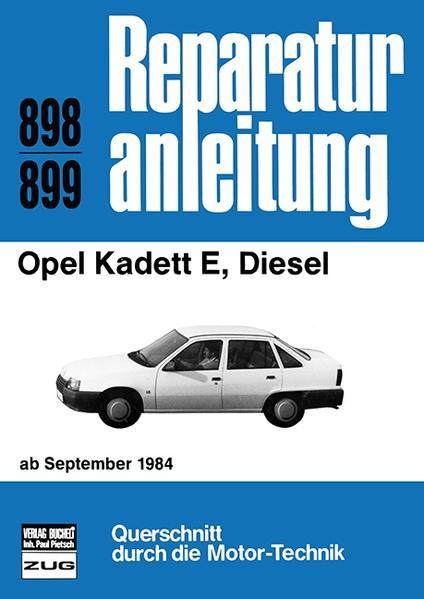 Opel Kadett E, Diesel - Coverbild