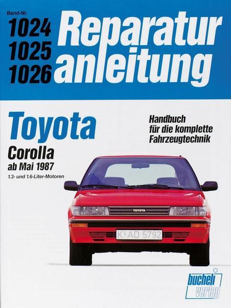 Toyota Corolla  ab Mai 1987 - Coverbild