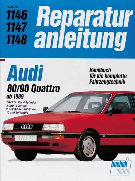 Audi 80 / 90 Quattro (ab 1989) - Coverbild