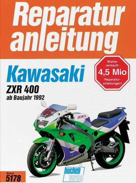Kawasaki ZXR 400 - Coverbild