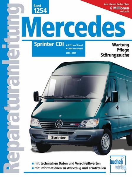 Mercedes-Benz Sprinter CDI    2000 bis 2005 - Coverbild