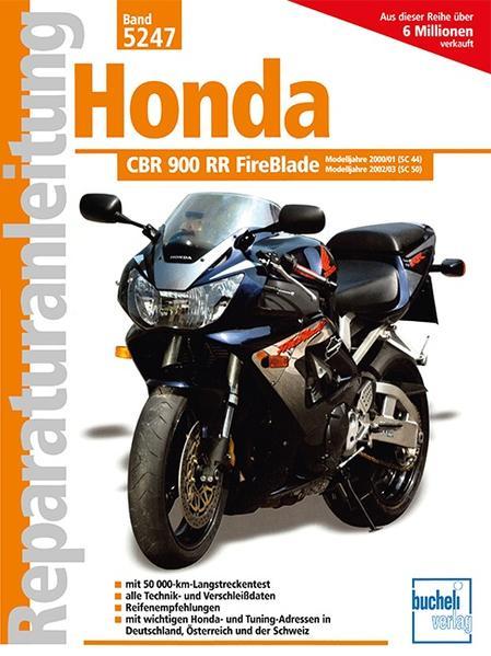 Honda CBR 900 RR FireBlade Laden Sie PDF-Ebooks Herunter