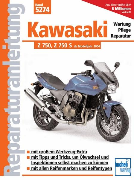 Kawasaki Z 750, Z 750 S, Z 750 ABS - Coverbild