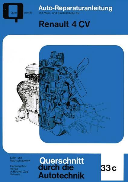Renault 4 CV - Coverbild