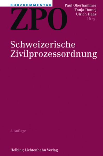 Kurzkommentar ZPO - Coverbild