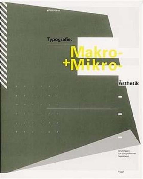 Typografie: Makro- und Mikroästhetik - Coverbild