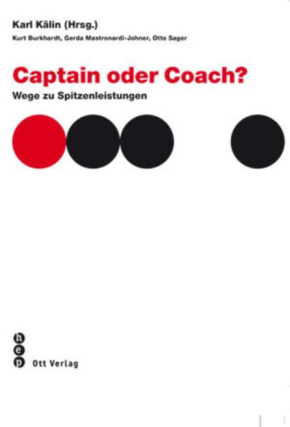 Captain oder Coach - Coverbild