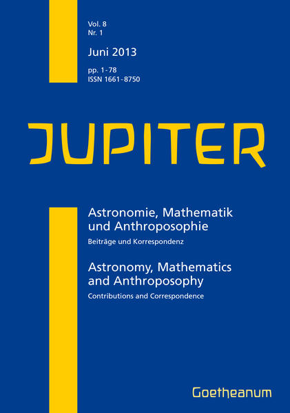 JUPITER – 01/2013 - Coverbild