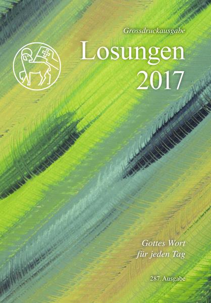 Die Losungen 2017 / Losungen 2017 - Coverbild