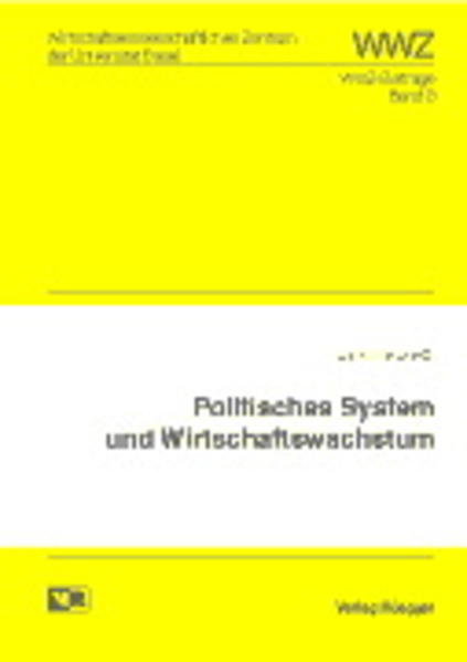 Politisches System und Wirtschaftswachstum - Coverbild