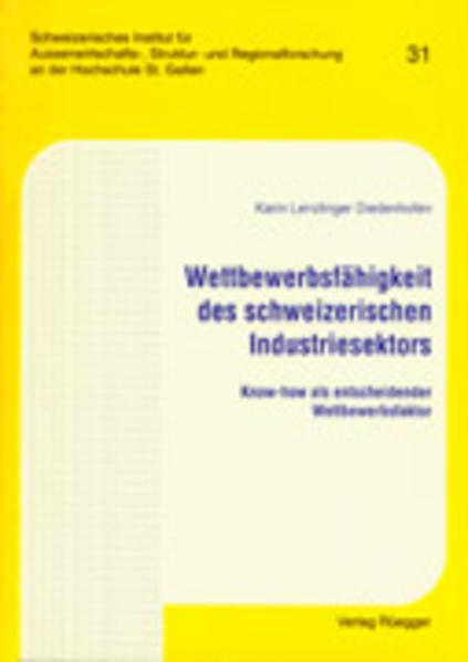 Wettbewerbsfähigkeit des Schweizerischen Industriesektors - Coverbild