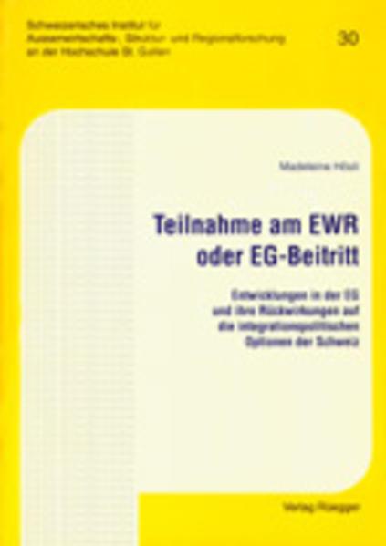Teilnahme am EWR oder EG-Beitritt - Coverbild