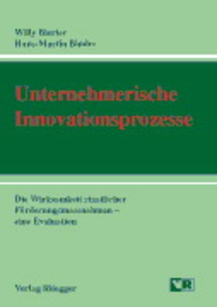 Unternehmerische Innovationsprozesse - Coverbild
