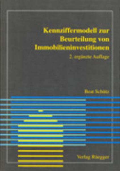 Kennziffermodell zur Beurteilung von Immobilieninvestitionen - Coverbild
