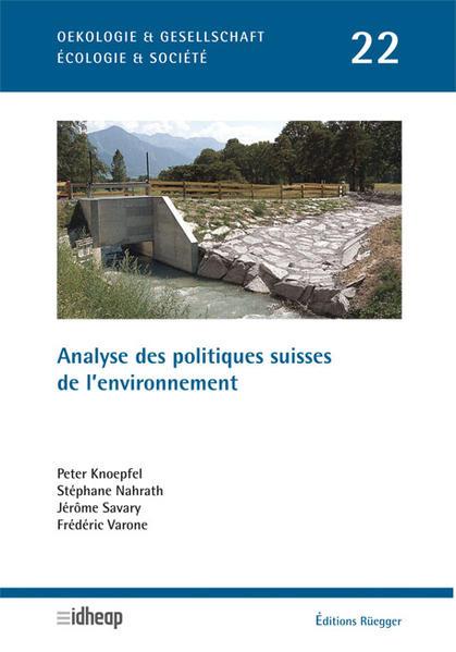 Analyse des politiques suisses de l'environnement Kostenloses Hörbuch auf Deutsch Herunterladen