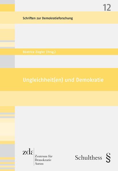Ungleichheit(en) und Demokratie - Coverbild