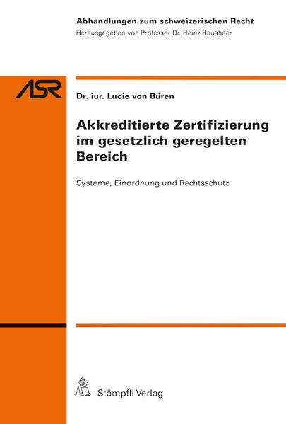 Akkreditierte Zertifizierung im gesetzlich geregelten Bereich - Coverbild