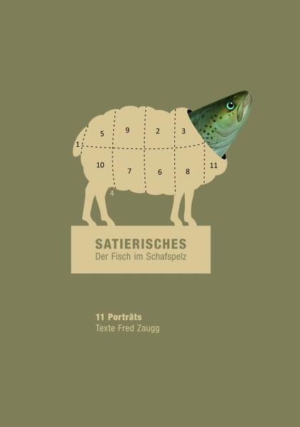 Satierisches - Der Fisch im Schafspelz - Coverbild