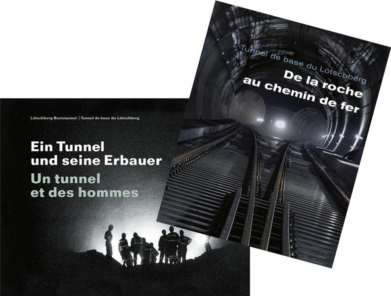 De la roche au chemin de fer/Le tunnel et des hommes - Coverbild