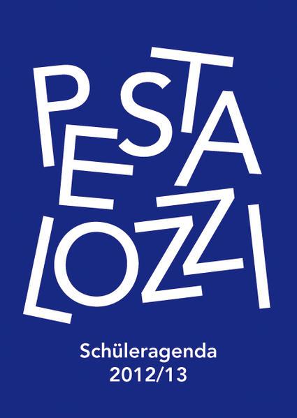 Pestalozzi-Schüleragenda 2012/13 - Coverbild
