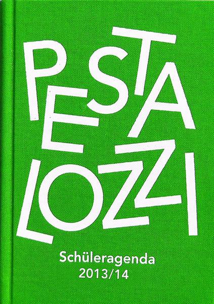 Pestalozzi Schüleragenda 2013/14 - Coverbild