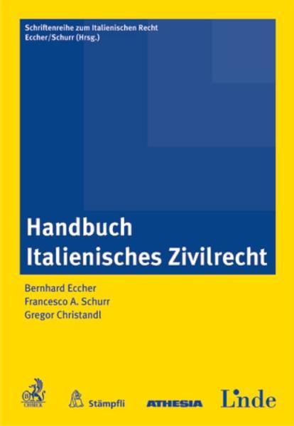 Handbuch Italienisches Zivilrecht - Coverbild
