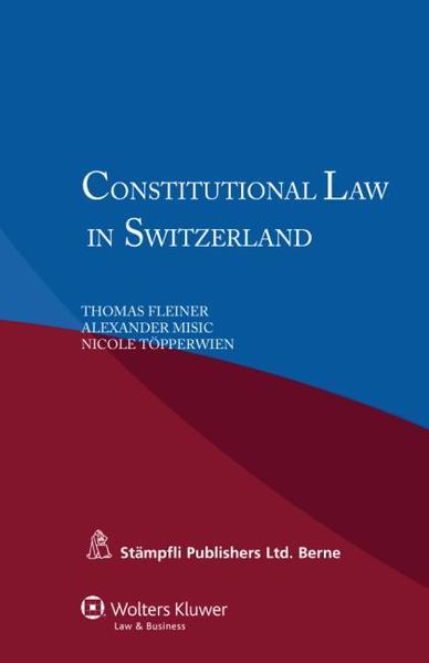Constitutional Law in Switzerland - Coverbild