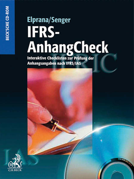IFRS-AnhangCheck - CD-ROM Update Edition 2010/2011 - Coverbild