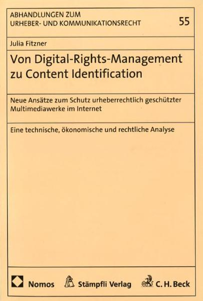 Von Digital-Rights-Management zu Content-Identification - Coverbild