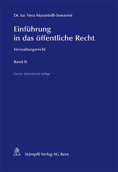 Einführung in das öffentliche Recht - Coverbild