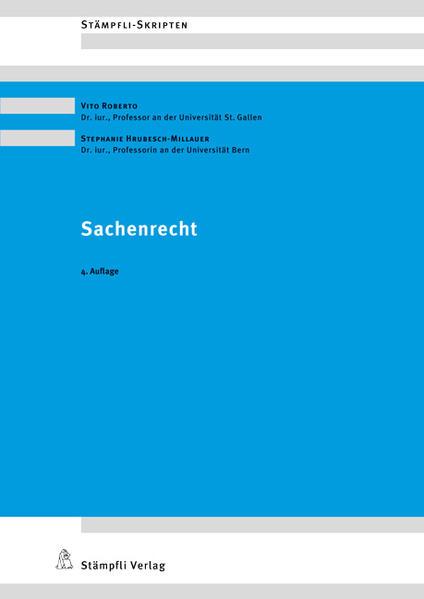 Sachenrecht - Coverbild