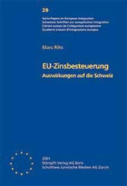 EU Zinsbesteuerung - Auswirkungen auf die Schweiz - Coverbild