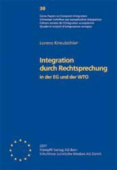 Integration durch Rechtsprechung in der EG und der WTO - Coverbild