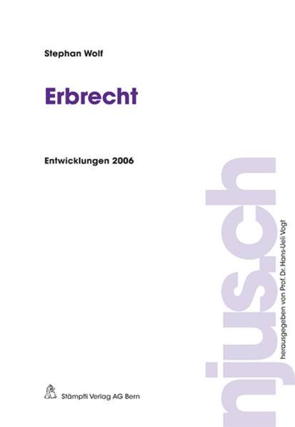 Erbrecht - Coverbild