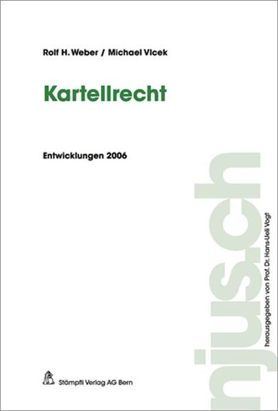 Kartellrecht - Coverbild