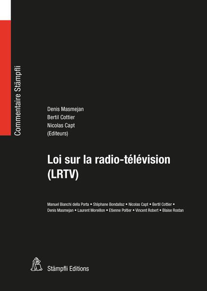 Loi sur la radio-télévision (LRTV) - Coverbild