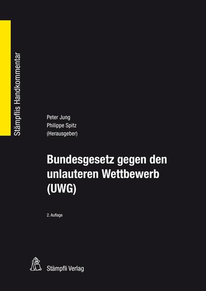 Bundesgesetz gegen den unlauteren Wettbewerb (UWG) - Coverbild