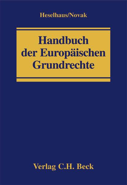 Handbuch der Europäischen Grundrechte - Coverbild