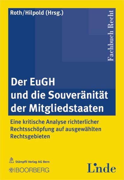 Der EuGH und die Souveranität der Mitgliedstaaten - Coverbild